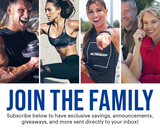 Join The Family! Subscribe below to have exclusive savings, announcements, giveaways, and more sent directly to your inbox!