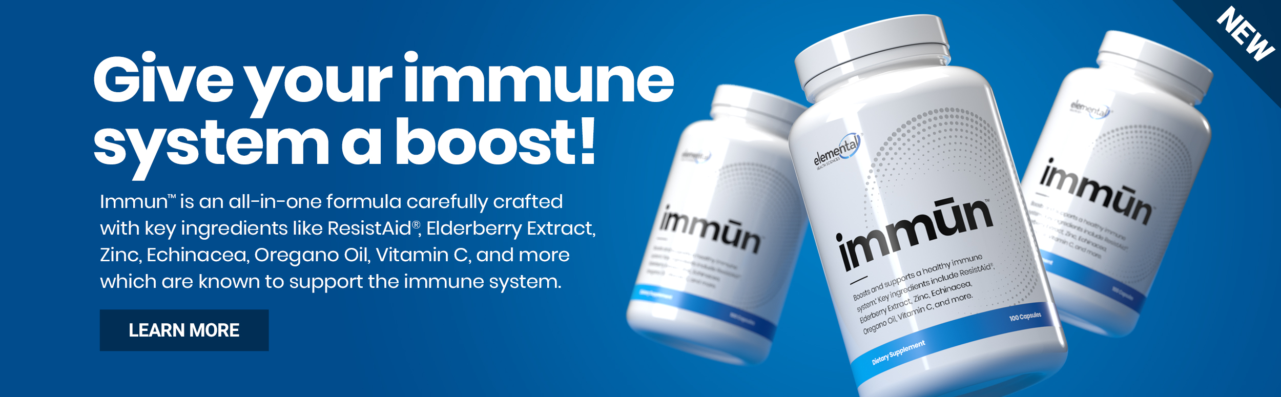 elemental immun - give your immune system a boost! Learn more