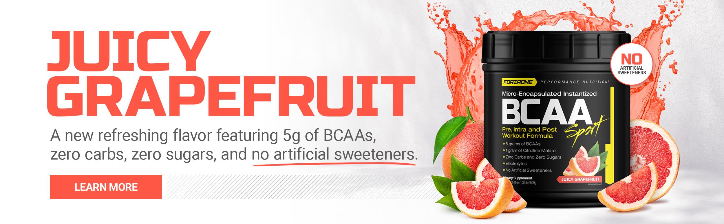 Forzaone Performance Nutrishop BCAA Sport Juicy Grapefruit