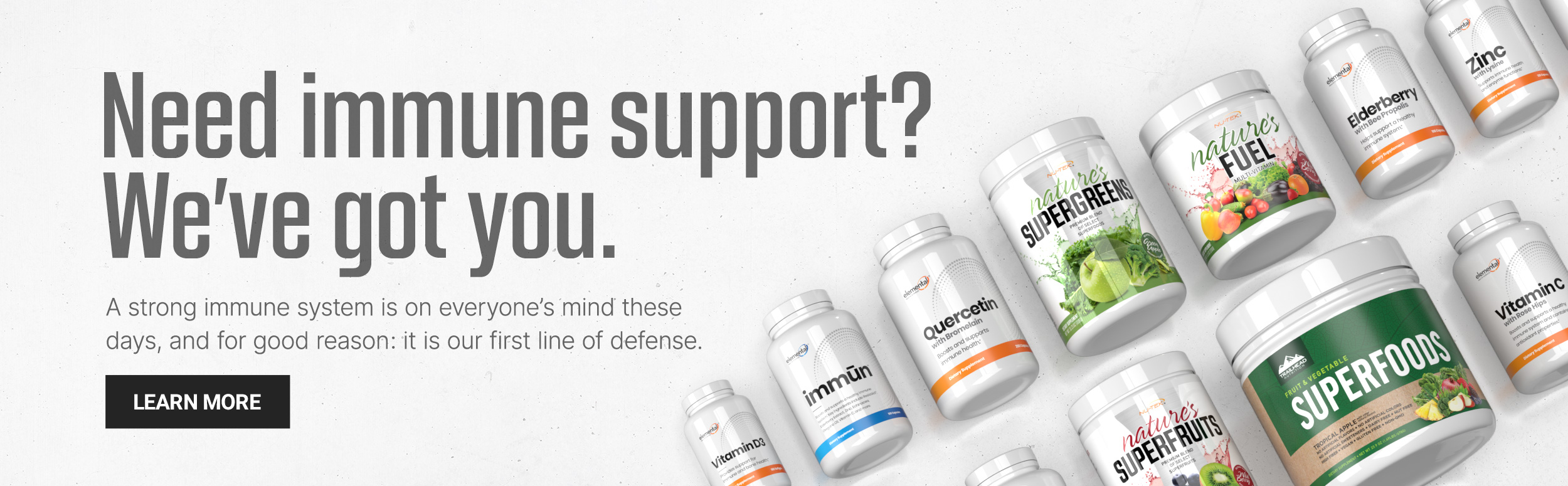 Need immune support? We've got you.