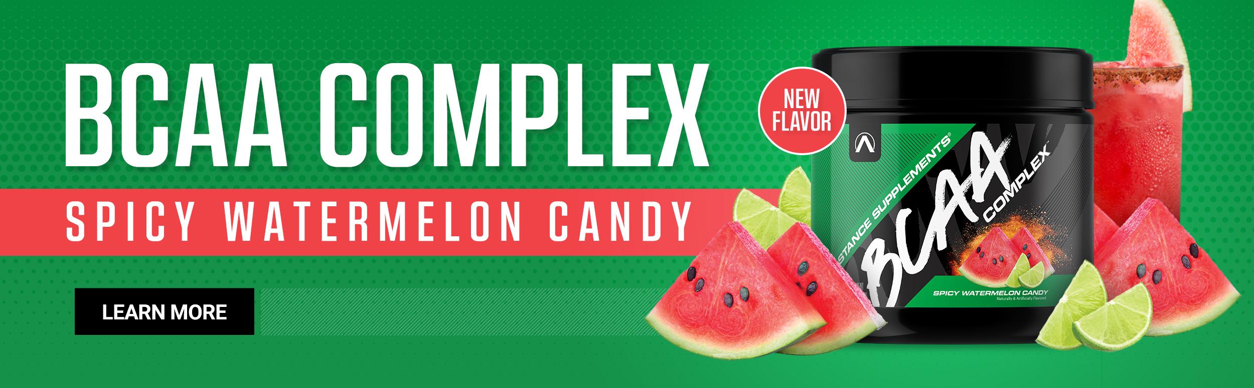 BCAA Complex Spicy Watermelon Banner Ad