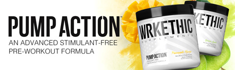 Pump Action - An Advanced Stimulant-free Pre-workout Formula