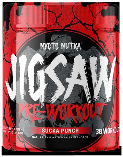 JIGSAW: Extreme Pre-Workout Supplement